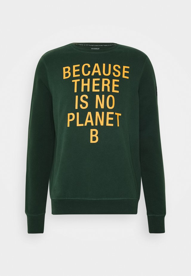 SAN DIEGO BECAUSE MAN - Sweatshirt - korean green