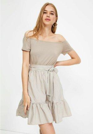 TWOSS21EL3013 - Jersey dress - brown