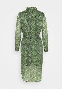 Vero Moda Petite - VMKATINKA DRESS  - Košilové šaty - dark green - 1