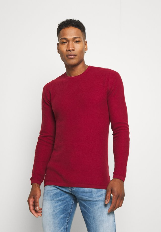 MAHEROME - Pullover - brick red