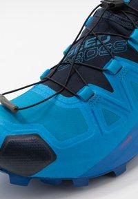 Salomon - SPEEDCROSS 5 GTX - Trail running shoes - blue aster/lapis blue/navy blazer - 5