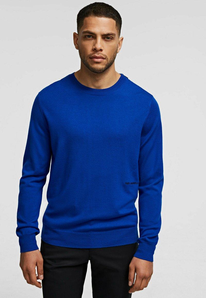 KARL LAGERFELD - Džemperis - blue