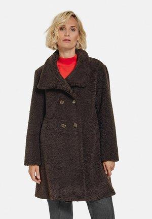 Short coat - schokolade