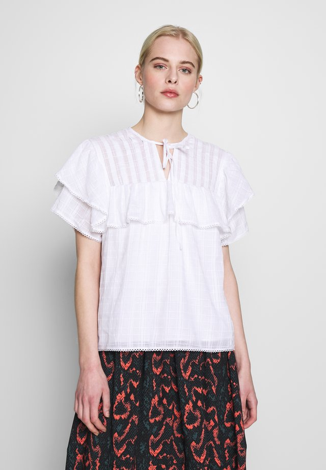 COBBLESTONE - Blouse - white
