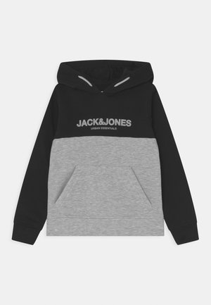 JJEURBAN BLOCKING HOOD JR - Sudadera - black