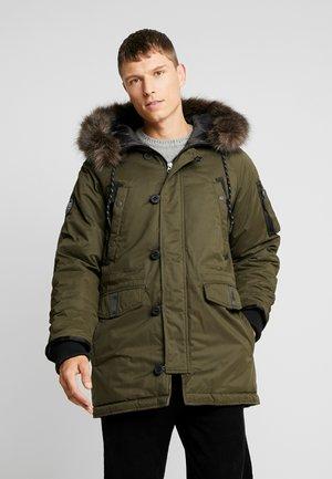 Zimní kabát - olive