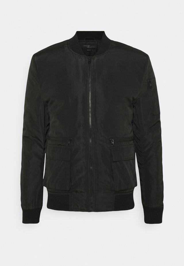 JACKET UNISEX  - Bomber Jacket - black