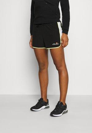 SANDRINE SHORTS - Pantalón corto de deporte - black