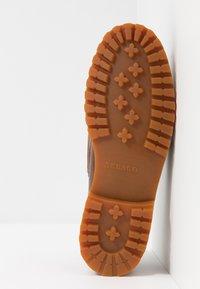 Sebago - PORTLAND LUG WAXY - Boat shoes - brown - 4