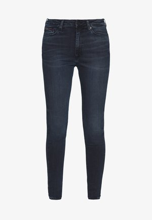SYLVIA HIGH RISE SUP SKY - Jeansy Skinny Fit - dark-blue denim