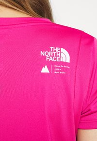 The North Face - GLACIER TEE - T-shirt print - pink - 5
