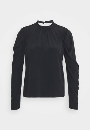 MUTTON SLEEVE BLOUSE - Blouse - black