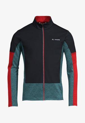 ALL YEAR MOAB FZ T-SHIRT - Training jacket - black