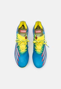 adidas Performance - X GHOSTED.1 FG - Moulded stud football boots - blue/vivid red/yellow - 3