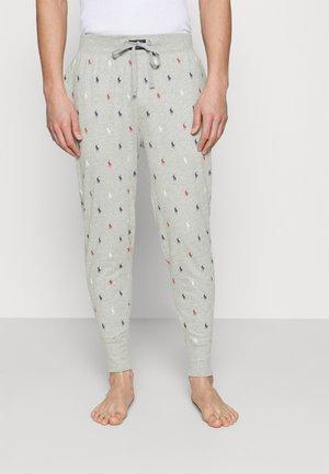 PRINTED LIQUID  - Pyjama bottoms - andover heather