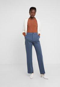 Filippa K - IVY TROUSER - Trousers - blue grey - 1