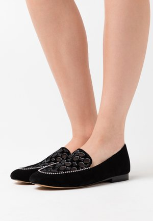 HARPER LOAFER - Slip-ons - black