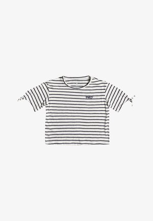 NEW LOVE - Pitkähihainen paita - snow white kuta stripes