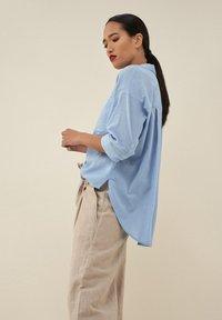 Salsa - MAGDALENA  - Button-down blouse - blau_8045 - 2