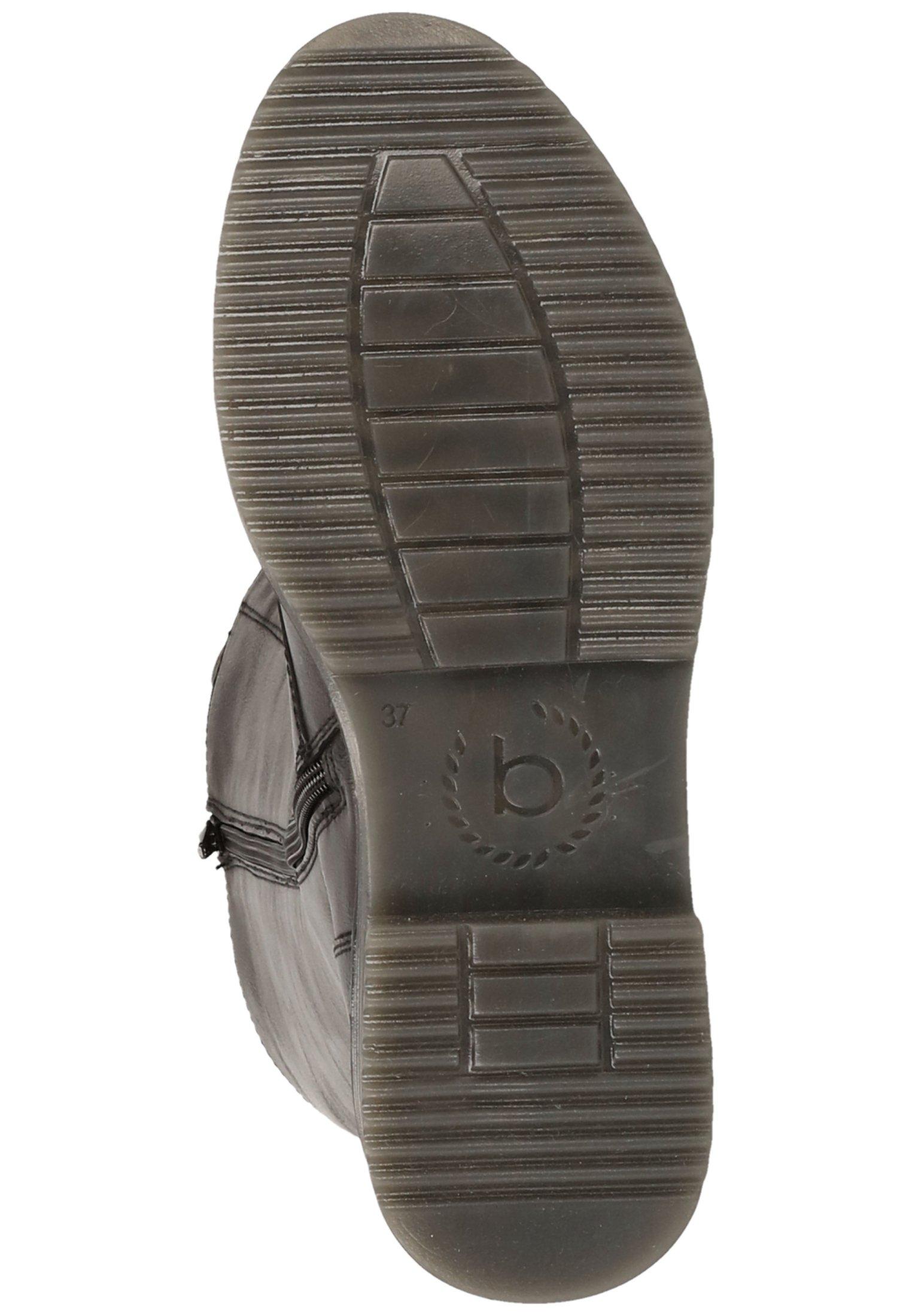 Bugatti Schnürstiefel schwarz 1000/schwarz