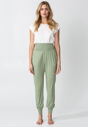 YOGA - Tracksuit bottoms - green