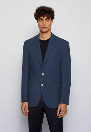 Blazer jacket - open blue