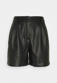 Vero Moda Tall - VMSOLAFIE COATED - Shorts - black - 0