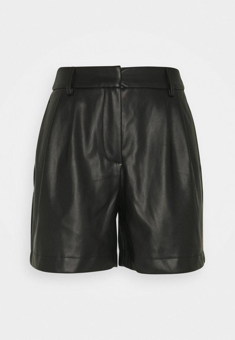 Vero Moda Tall - VMSOLAFIE COATED - Shorts - black