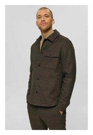 Summer jacket - brown grey