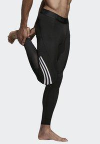 adidas Performance - Alphaskin Sport+ Long 3-Stripes Tights - Leggings - black - 3