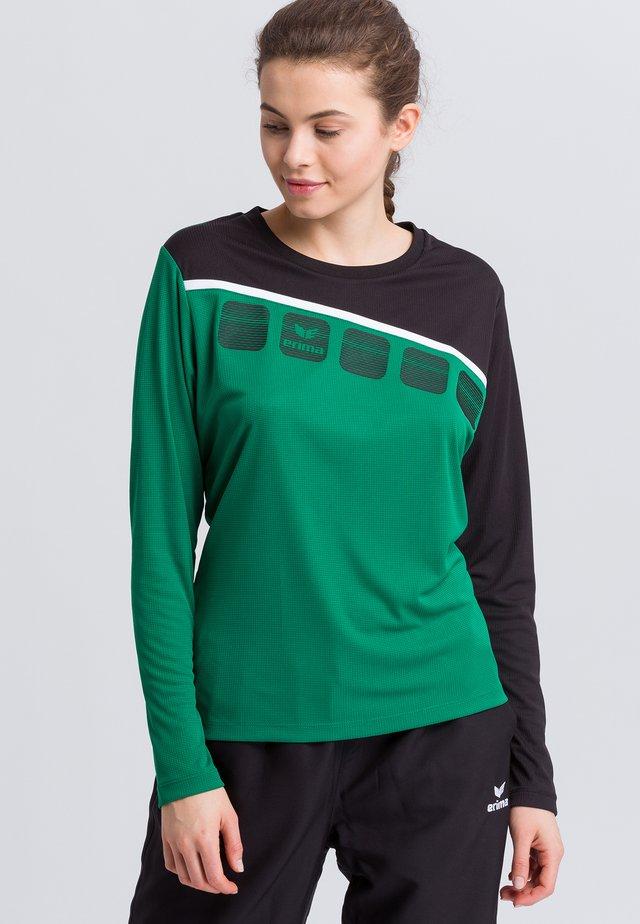 Sports shirt - green/black
