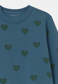 TINYCOTTONS - HEARTS UNISEX - Sweatshirt - sea blue/dark green - 2