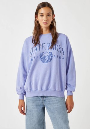Sweatshirts - mottled blue