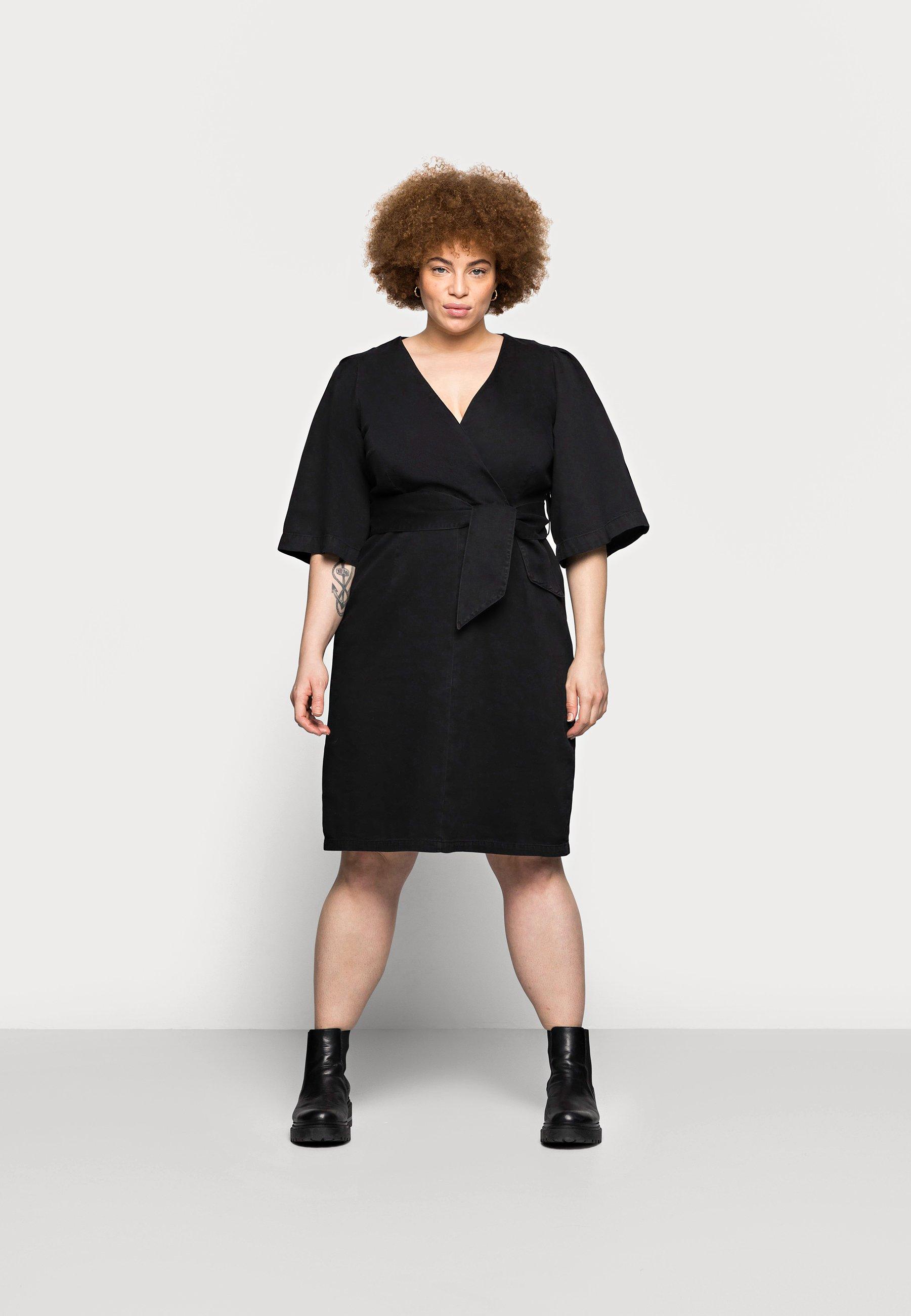 Damer VMFAYE SHORT DRESS - Jeanskjole / cowboykjoler
