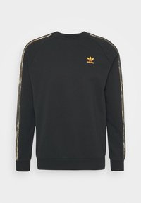 adidas Originals - CAMO CREWNECK - Bluza - black - 3