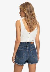 Roxy - LAGOS CLIFF - Denim shorts - dark indigo - 2