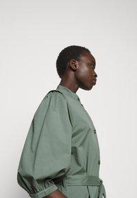 Bruuns Bazaar - BASIL GALLIANA DRESS - Shirt dress - moss - 4