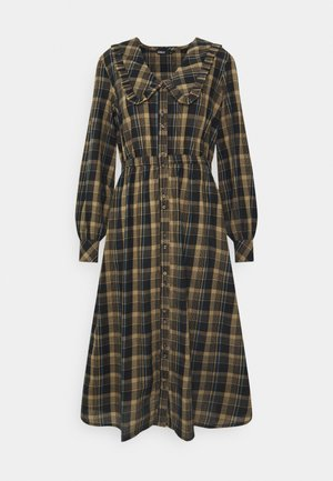 ONLFIONA ABOVE CALF SHIRT DRESS - Skjortekjole - chinchilla