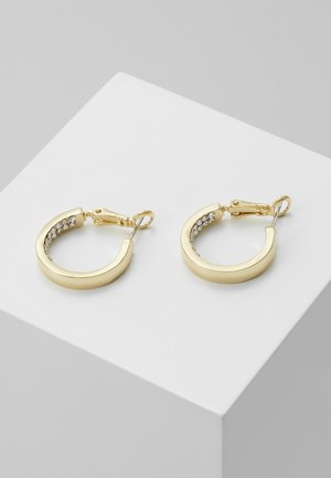 CASEY RING EAR CLEAR - Oorbellen - gold-coloured