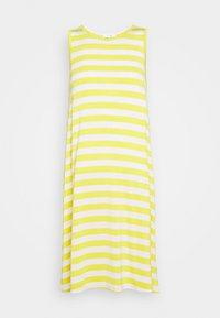 SWING DRESS - Jersey dress - yellow