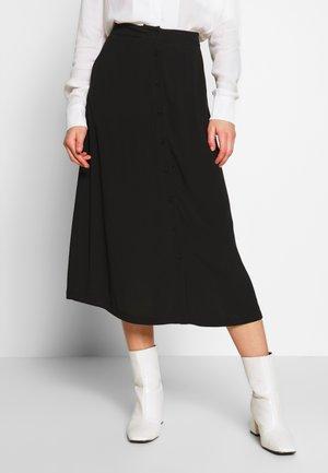 MAISA - Áčková sukně - black