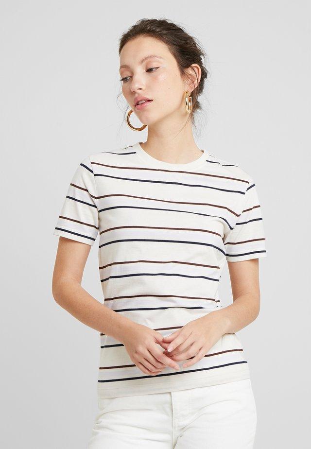 LEILA - Print T-shirt - off white