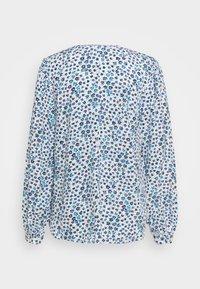 GAP - ZEN NECK - Long sleeved top - blue - 1