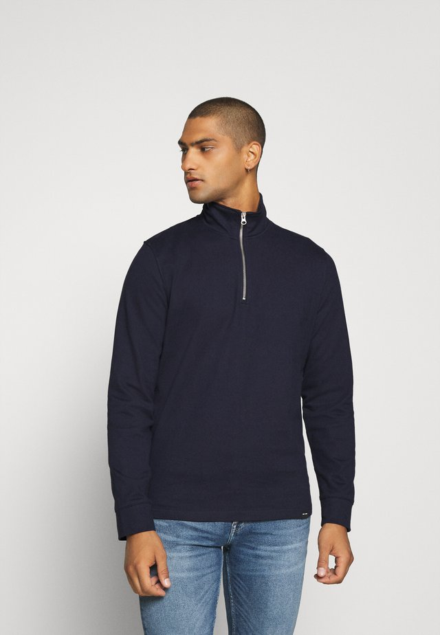 ARRIE HALF ZIP  - Strikkegenser - night sky