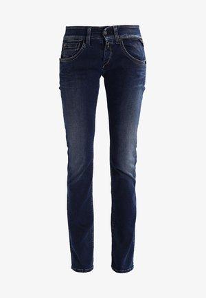 NEWSWENFANI - Straight leg -farkut - dark-blue denim