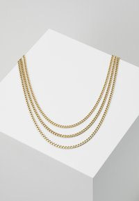 MIAMI UNISEX 3 PACK - Necklace - gold-coloured