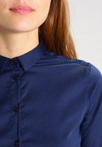Mos Mosh - TILDA - Button-down blouse - navy - 3