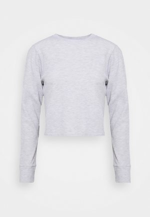 CROSS BACK LONG SLEEVE - Topper langermet - grey marle