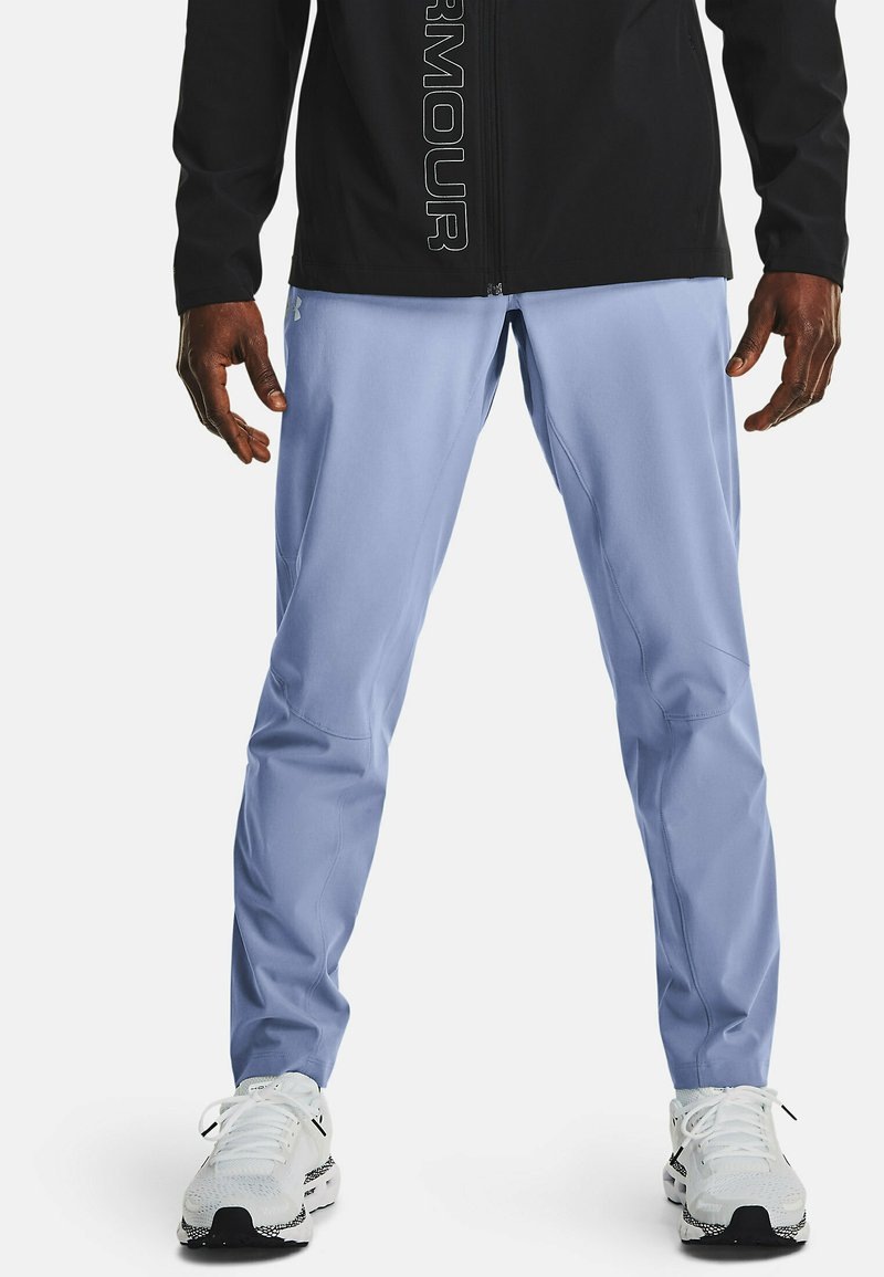 Under Armour - OUTRUN THE STORM - Trousers - washed blue