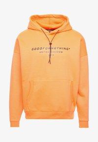 Good For Nothing - OVERSIZED HOODIE - Felpa con cappuccio - orange - 3